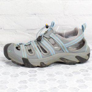 KEEN Waterproof Blue Nylon Sport Sandals Sz 8.5